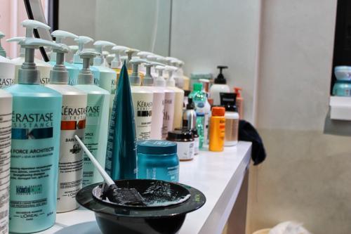 vendita prodotti per capelli